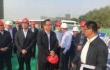 孙述涛察看新东站建设及周边交通规划