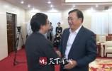 王忠林会见中科院院士、中国科技大学常务副校长潘建伟一行