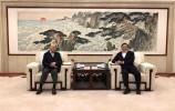 ?王忠林会见香港霍英东集团行政总裁霍震寰