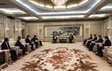 孫述濤會見香江集團董事局主席劉志強