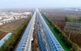 通车更近了! 济南地铁R1线7公里声屏障安装结束