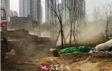 啄木鸟|长清区文昌山公园建设工程扬尘大