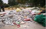 啄木鳥|翡翠外灘小區南區對面出現一車裝修垃圾!