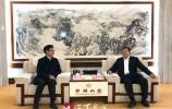 王忠林会见西藏白朗县党政代表团一行
