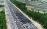 济青高速改扩建最新进展探访,修路设备都是国产