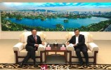 视频|王忠林会见全国政协委员、泰山集团董事长卞志良一行