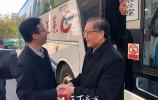 济南市行政审批服务局迎接全市首批莱芜划转人员
