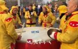 正月十五来历城文博广场热闹热闹 踩高跷、舞龙舞狮、划旱船精彩纷呈
