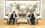 王忠林会见绿地控股集团股份有限公司董事长、总裁张玉良