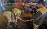 供水管道自然爆管 !預計3月16日上午12點前搶修完畢