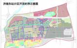 济南东站片区划分核心区 规划R3 M1 M4地铁线 到市中心仅15分钟