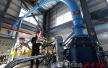 山东首台天然气  煤粉 两用热水锅炉投入使用