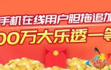 """中奖神器""""手机在线"""" 济南彩民幸运获揽大乐透1800万"""