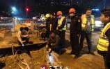 一片静悄悄~济南市中区夜间突查落实工地停工