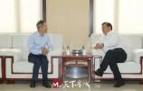 王忠林会见清华大学公共管理学院行为与大数据实验室主任、首席专家王择青