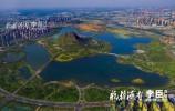山東華山生態濕地開園 無人機高空俯瞰壯麗景觀