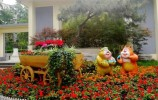 济南公园景区:坚守岗位热情服务,保障游园文明有序