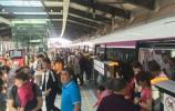 五一假期 济南地铁1号线客流是这样的