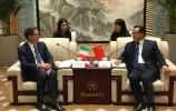 孙述涛会见意大利博洛尼亚市市长维尔吉尼奥·梅罗拉
