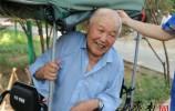 """91岁抗战老兵枪林弹雨十几年 他却说""""我没给国家做出贡献"""""""