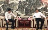 王忠林会见金港控股有限公司董事长叶明钦一行