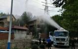 济南:保护水源地!南山西营拆除5栋违建别墅