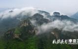 雨后济南南部山区出现平流雾 美景赛过张家界