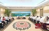 王忠林会见法国液化空气集团大中华区董事会主席路跃兵一行