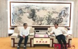 王忠林会见中国科学院计算所总工程师胡伟武一行