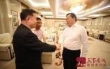 王忠林会见出席中国新媒体发展年会嘉宾