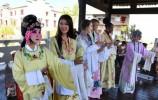 新華社鏡頭下的濟南國慶假期:趵突泉景區游人如織