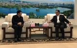 孙述涛会见中国石油天然气集团客人
