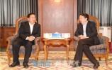王忠林赴北京考察对接中信集团