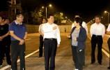萊蕪區委書記朱云生、區長秦蕾帶隊視察城市建設工作