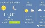 """济南本周气温低至5℃ 冷空气持续发力 东北华北多地气温""""触底"""""""