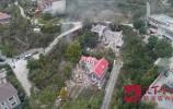 济南南部山区25幢违建别墅被拆除 原址将进行山体恢复