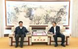 王忠林会见中国铁路济南局集团有限公司董事长王新春一行