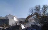 济南南山再拆21栋违建别墅!拆除面积2.8万余平米