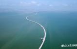 这就是山东丨8公里进海路通往人工岛 65口采油井绿色作业守护莱州湾
