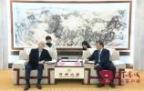 王忠林会见诺贝尔奖获得者、中国科学院外籍院士杰哈·莫罗一行