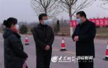 萊蕪區人大常委會主任現場督查疫情防控工作
