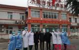济南市传染病医院第十二批三例新冠肺炎患者康复出院