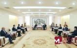 孙述涛会见国网山东电力公司客人