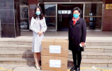 爱心企业捐赠5000个口罩 助力钢城开学复课