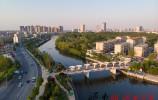 小清河生态景观带展新颜 六大景观带成打卡新地标