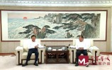 视频 | 孙立成孙述涛会见香港世茂集团客人