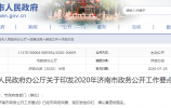 2020年济南市政务公开工作要点出炉