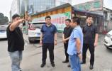 天桥区委主要领导察看防汛工作