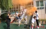 消防演练筑牢校园安全防线 ——山东师大附小雅居园校区举行消防应急疏散演练活动