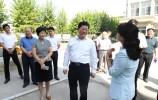 莱芜区委书记朱云生到汶源学校开展走访慰问活动